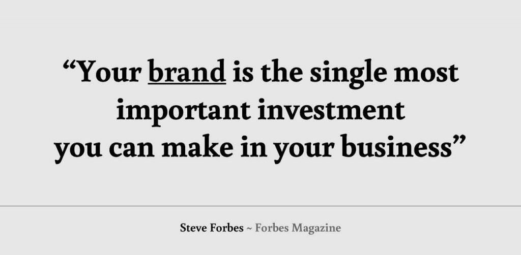 Quote sterk merk Forbes